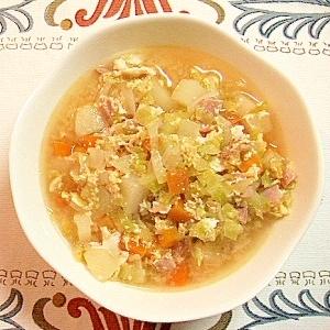 初心者でも簡単にできる 具たっぷり野菜スープ