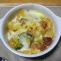 里芋とポテトのドフィノワ ~トマトチーズ風味~