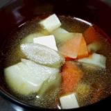 根菜たっぷり(´▽`*) けんちん汁♪
