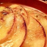 ブルーチーズ焼きりんご