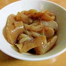 生姜が香るこんにゃくの炊いたん