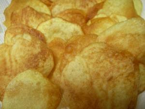 おうちで手作り!ポテトチップス