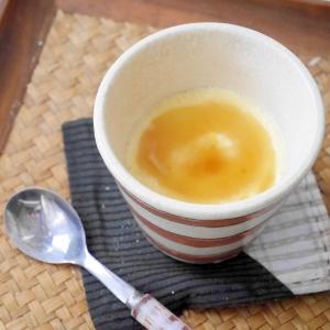 卵1個&レンジで簡単★糖質OFFプリン