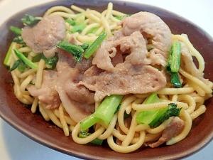 鶏がら塩糀スープの素 豚ロースと小松菜のちゃんぽん