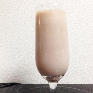 冷凍バナナで豆乳ココアスムージー