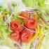 麺類に合わせて♪「トマト」が主役の献立