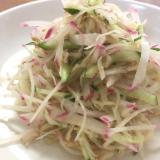 栄養満点サラダ!赤カブと切り干し大根のナムル