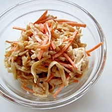 切干大根で簡単サラダ