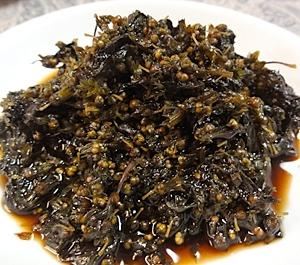 紫蘇の実の佃煮