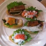 カラフル稲荷寿司