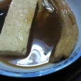 アナゴと豆腐の煮込み