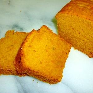 メープルが優しく香る♡フワフワかぼちゃのケーキ♪