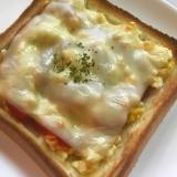 卵チーズトースト☆簡単☆絶品☆