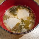 大根&キャベツ&ワカメの味噌汁