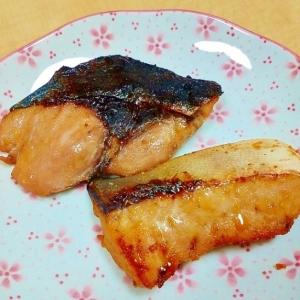 ポリ袋で簡単☆ぶりの柚子味噌漬け焼き