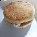 焼きマシュマロのせパン