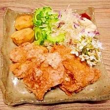 鶏モモ肉☆サクッとジューシーから揚げ