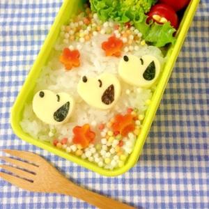 簡単キャラ弁☆スヌーピーのお弁当♪