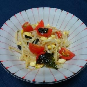 豆もやしと トマトのナムル