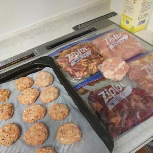 お肉色々冷凍作りおき