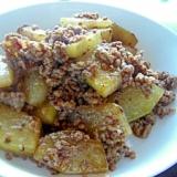 冬瓜と挽肉の炒め物