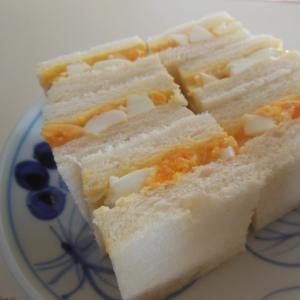 おうちで簡単☆美味しいたまごサンド♪