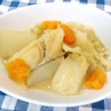 ヘルシーで胃に優しい!鱈と野菜の味噌煮