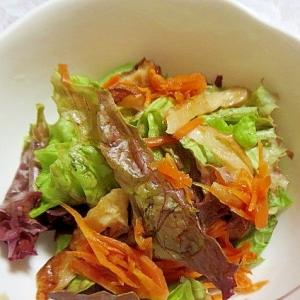 煮物サラダ