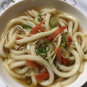 金時人参とエノキのお味噌汁(^^)