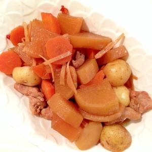 きゅーちゃん余り汁をリメイク☆鶏と野菜の甘酢煮