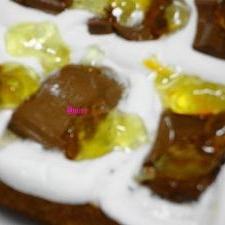 甘い誘惑♪マシュマロ&チョコのせトースト♪