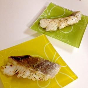 鱈のマーガリンハーブ焼き