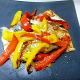 塩分調整♪漬け魚と野菜の蒸し焼き