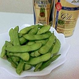 塩加減が絶妙♪おいしい塩茹で枝豆