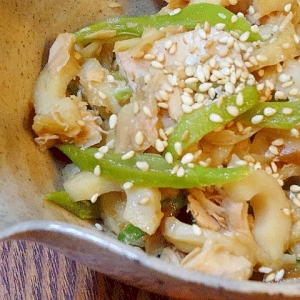 お惣菜☆ 「切干し大根のツナ缶炒め煮」