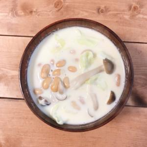 【時短】大豆たっぷり豆乳スープ