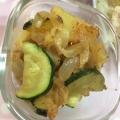 ズッキーニとジャガイモの炒め物