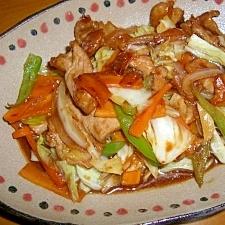 冷蔵庫の整理・野菜炒め