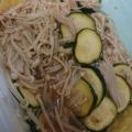 ズッキーニとえのきの炒め物