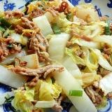 タイ料理風❤白菜の炒め物♪(ココナッツオイル他)