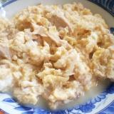 ツナ入りの炒り卵