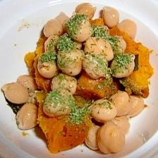 かぼちゃとひよこ豆のバルサミコ酢サラダ