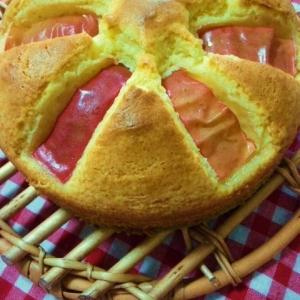 リンゴが3切れ余ったら☆リンゴのしっとりケーキ