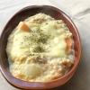 白菜の豆腐グラタン