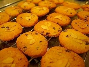 さっくさく!チョコくるみクッキー