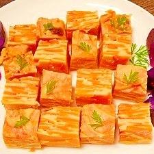 天ぷら粉で☆バターナッツ南瓜のミルフィーユ焼き