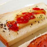 ケチャップ/マスタード チーズトースト