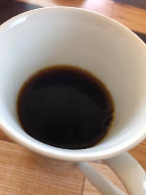 ハチミツ麦茶のホットコーヒー