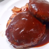 男のロマン 国産和牛肉で ビッグハンバーグ