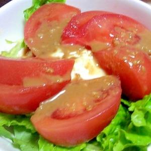 夏におススメ☆豆腐とトマトのさっぱりサラダ